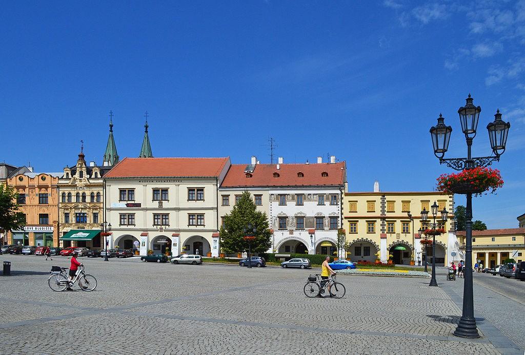 Die historische Innenstadt von Kroměříž. Foto: Scotch Mist via Wikimedia Commons