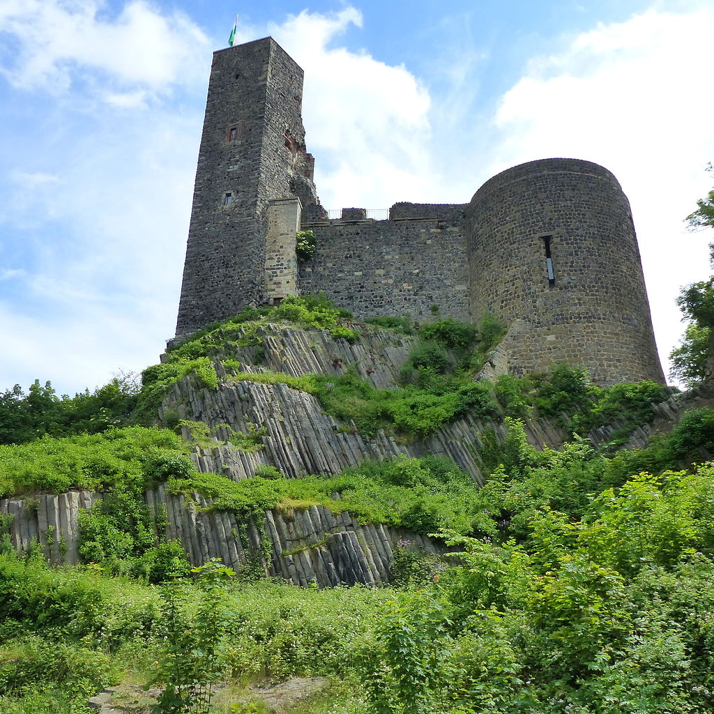 Die Burg Stolpen. Foto: Dr. Bernd Gross via Wikimedia Commons