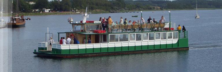 Die MS Salzhaff. Foto: Fahrgastschifffahrt Steußloff