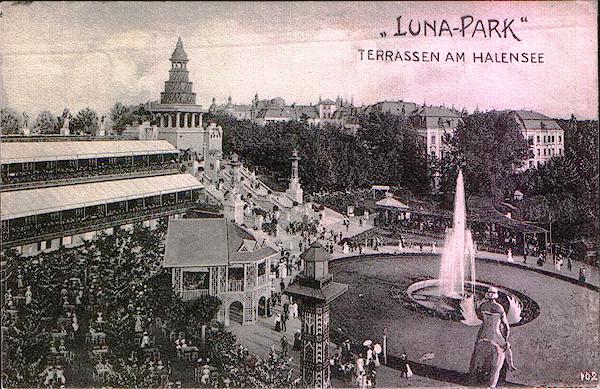 Attraktionen, den kaum etwas entgegenzusetzen war: Der Lunapark am Halensee